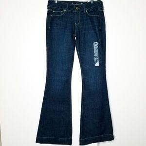 American Eagle Midnight Flare Indigo Jeans